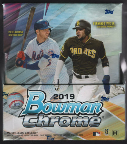 2019 Bowman Chrome Baseball Hobby (PYT) Box Break #650K + GIVEAWAY!