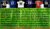THE TREASURE CHEST BOX AUTOGRAPHED FOOTBALL JERSEY (PYT) 5 BOX BREAK #4F + 4 GIVEAWAYS!