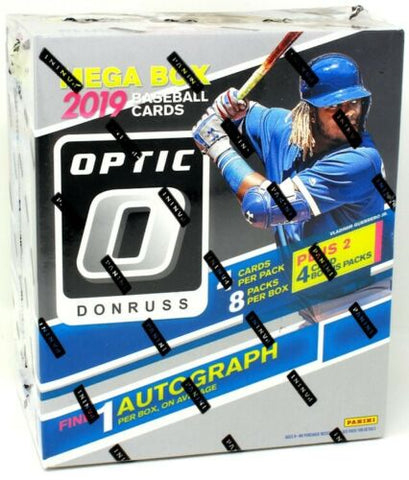 2019 Panini Donruss Optic Mega (Random Division) Box Break #80K
