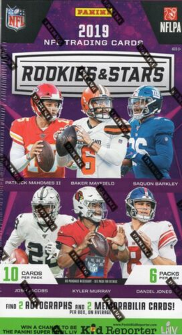 2019 Panini Rookies & Stars Football Hobby (PYT) 3 Box Break #1K