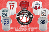 2019 Gold Rush Autographed Baseball Jersey (2 Random Team) Box Break #90A!