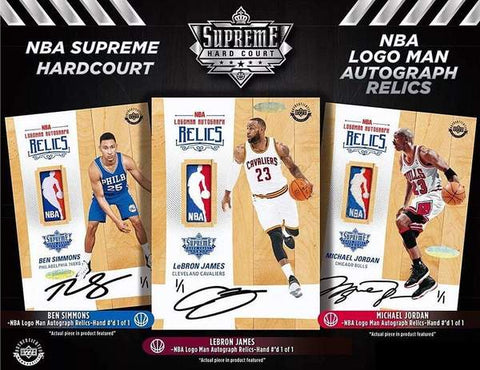 2017/18 Upper Deck Supreme Hard Court Basketball (PYT) Hobby Box Break #300A