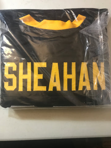 Riley Sheahan Signed Pittsburgh Penguins Hockey Jersey Beckett COA Autographed