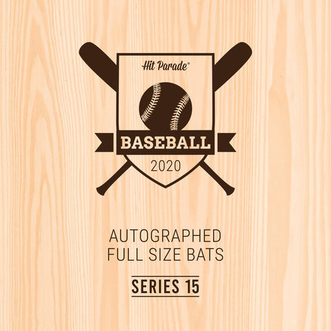 2020 Hit Parade Autographed Baseball Bat (Random Teams) Hobby Box Break #2L
