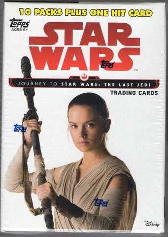 2017 Topps Star Wars Journey to The Last Jedi Blaster Box
