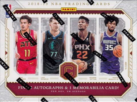 2018/19 Panini Cornerstones Basketball Hobby (PYT) Box Break #680K + GIVEAWAY!