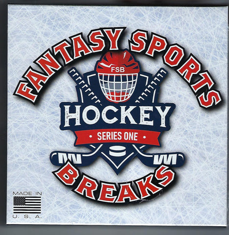 Fantasy Sports Breaks Hockey Series 1 (Random Teams) Box Break# 1K
