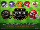 2020 Legendary Autographed Mini Helmets 1/2 Case Break (4 Boxes Pyt) + 4 Giveaway's