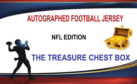 The Exclusive Treasure Chest Autographed Football Jersey 3 Box (Random Team) Break #683K!
