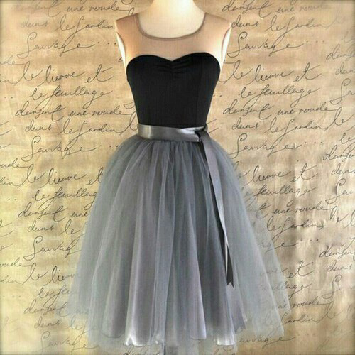 A Line Simple Homecoming Dress Free Fast Shipping