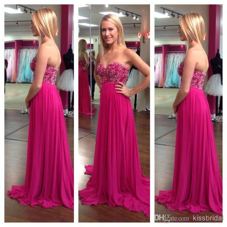 Sweetheart Strapless A-Line Prom Dresses