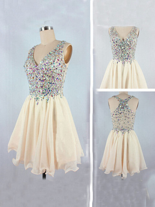 Beaded Homecoming Dresses Short Homecoming Dress