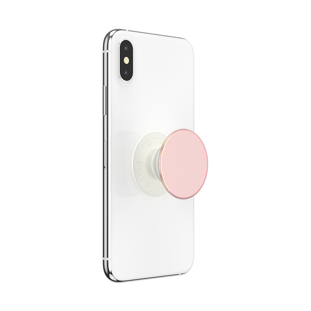 PopGrip Color Chrome Powder Pink (801898), PopSockets