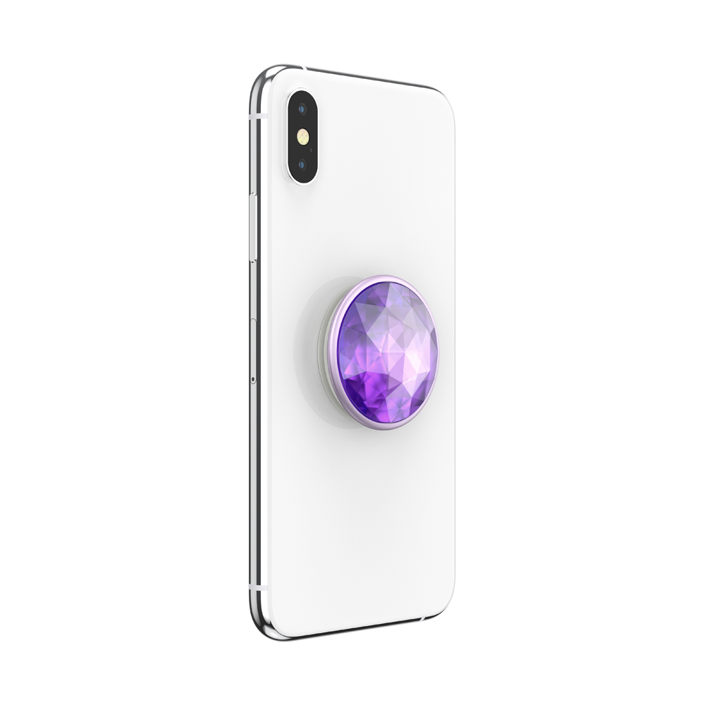 PopGrip Disco Crystal Orchid (801129), PopSockets