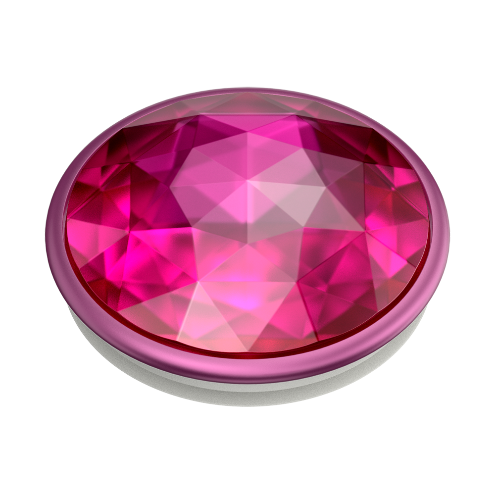 PopGrip Disco Crystal Plum (801526), PopSockets
