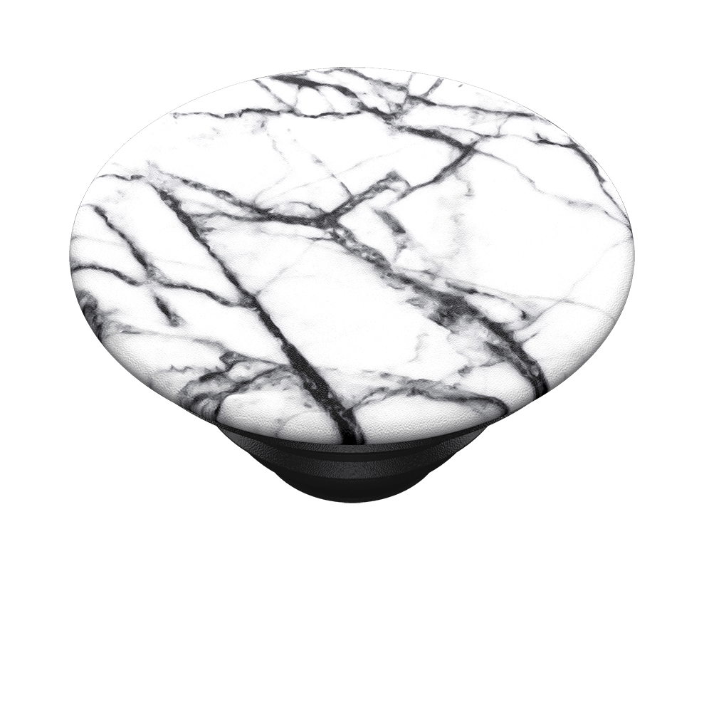 PopGrip Dove White Marble (800997), PopSockets
