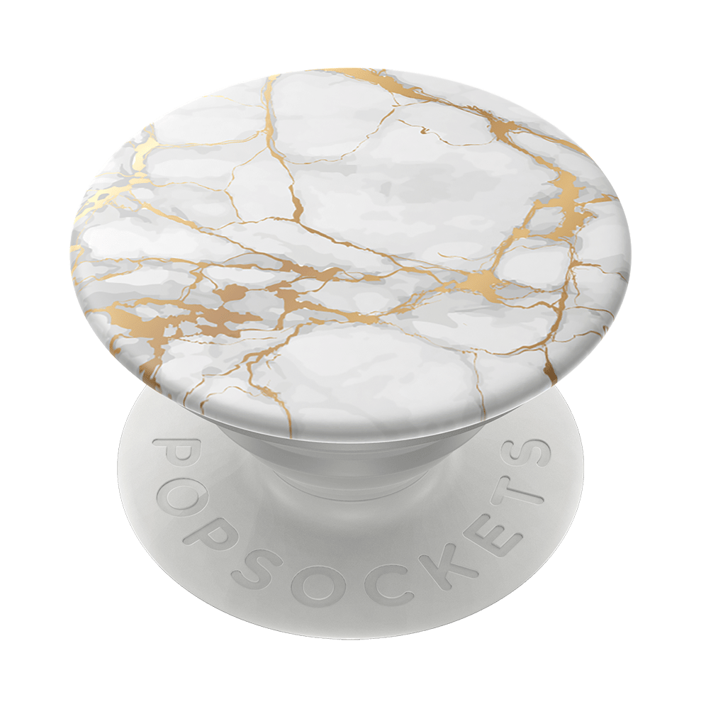 PopGrip Gold Lutz Marble (801632), PopSockets