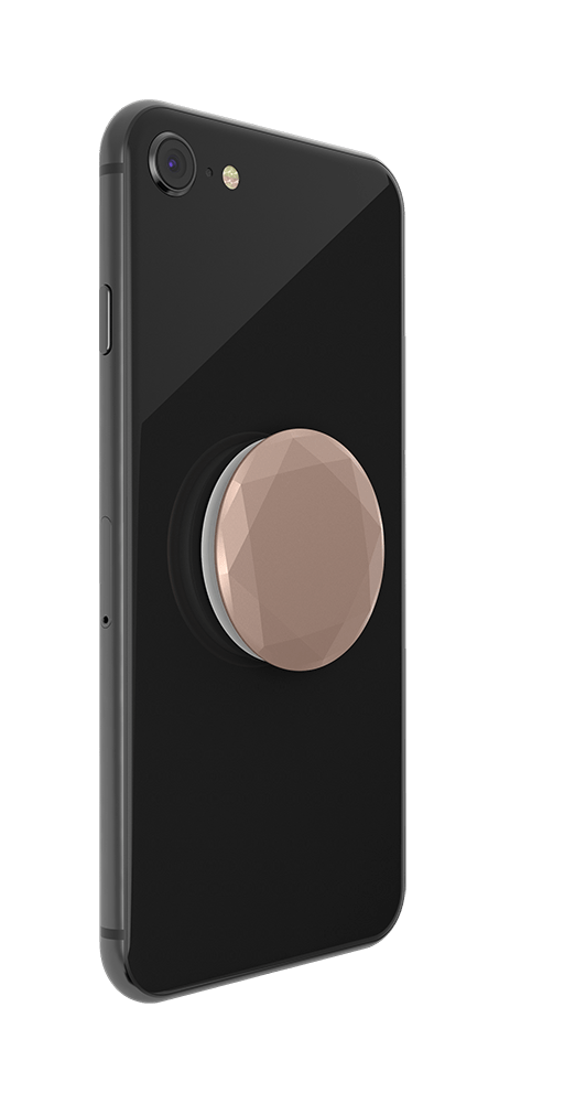 PopGrip Metallic Diamond Rose Gold (800491), PopSockets