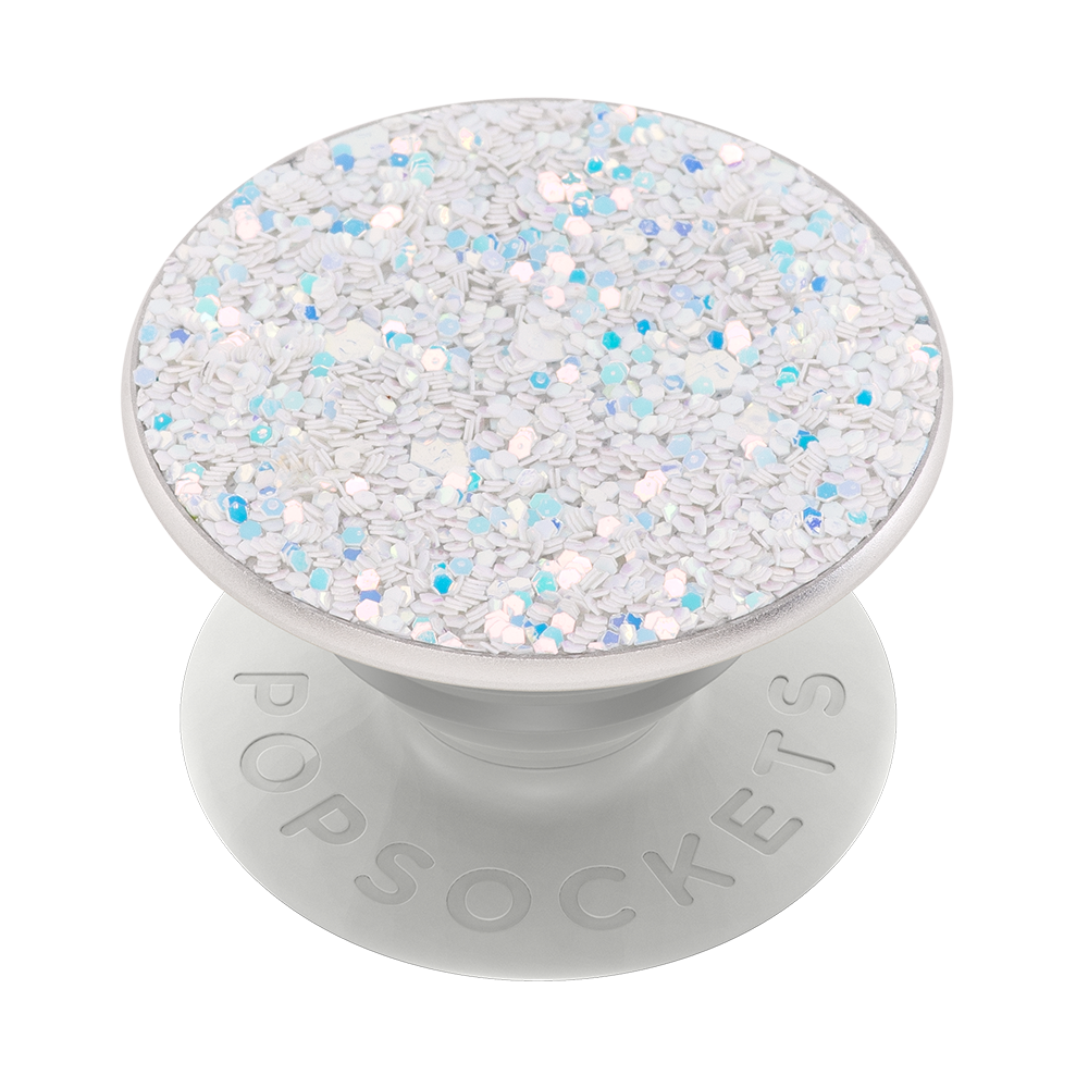 PopGrip Sparkle Snow White (800497), PopSockets