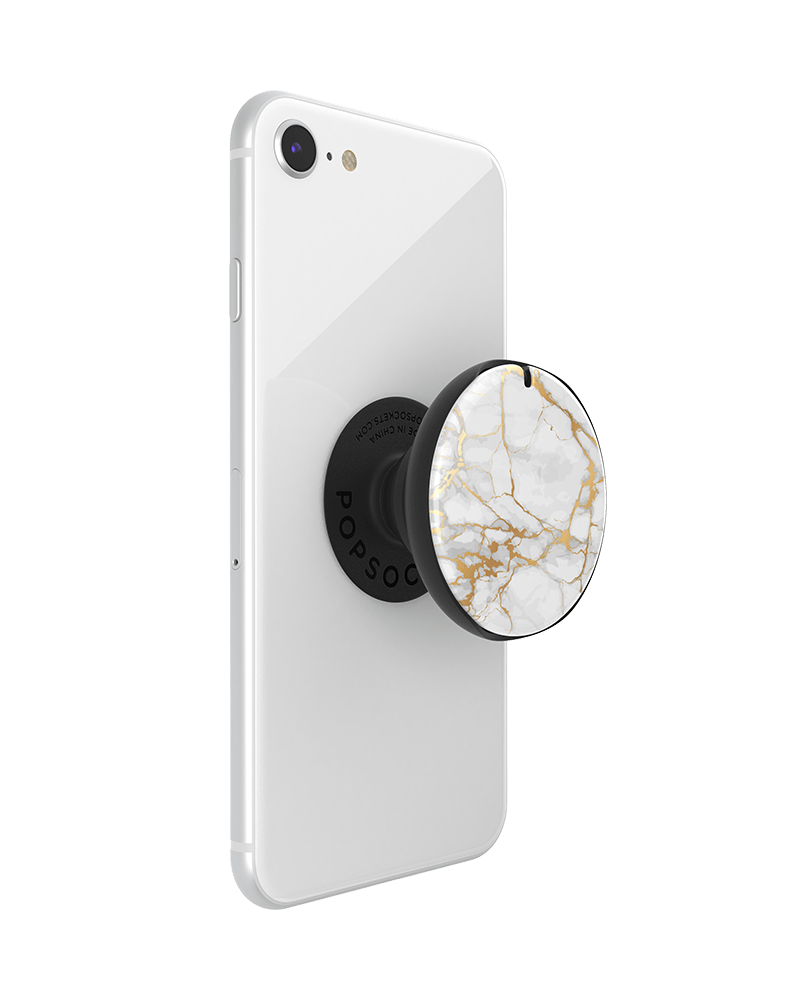 PopGrip Mirror Stone White (801908), PopSockets