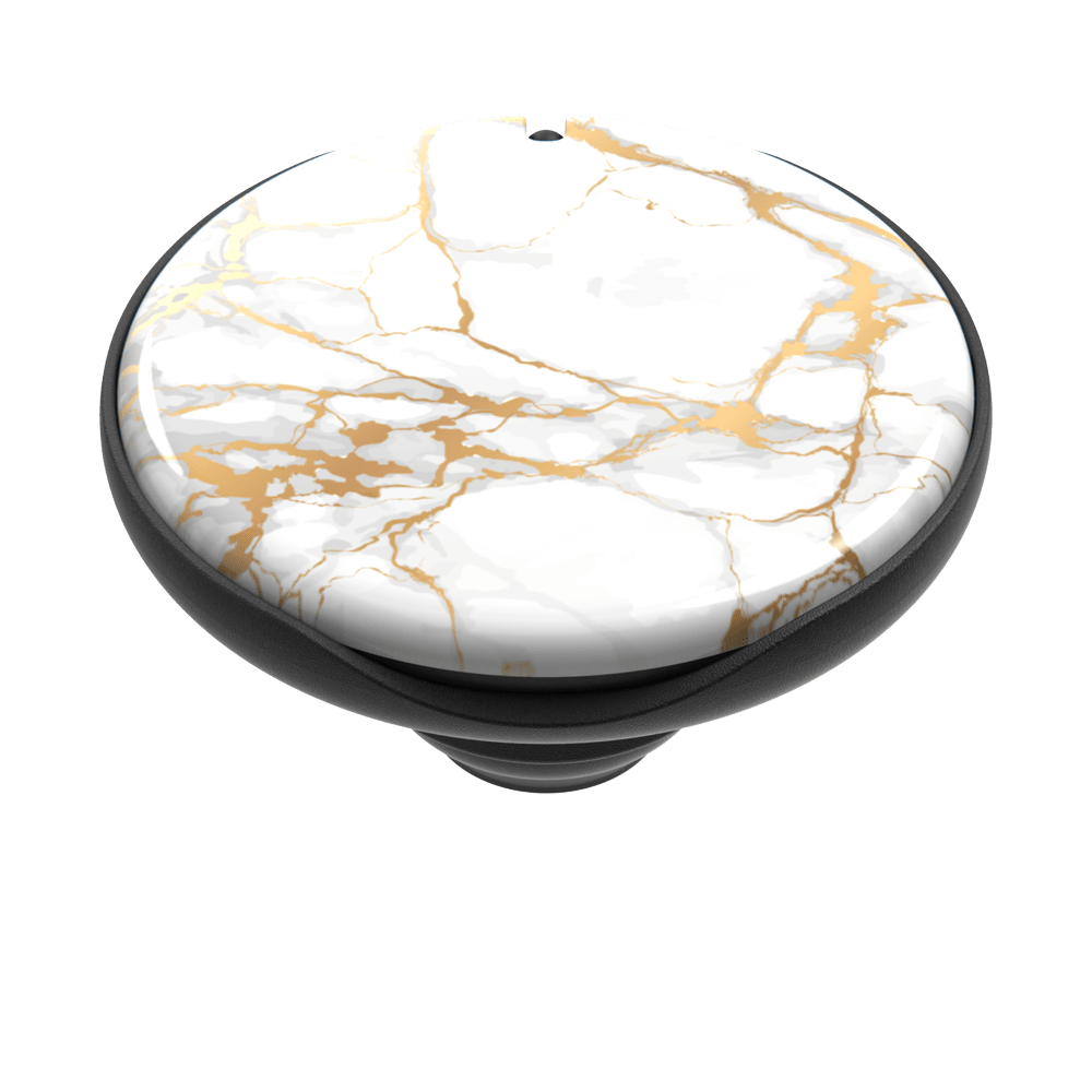 Just the Top PopGrip Mirror Stone White (802010), PopSockets