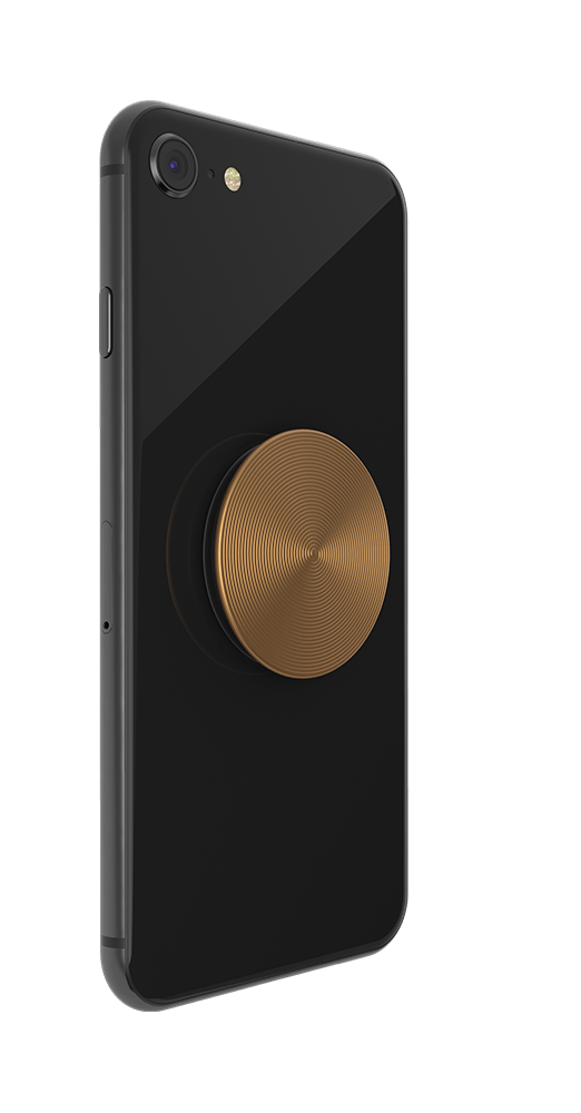 PopGrip Twist Aura Gold Aluminum (801248), PopSockets