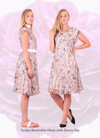 loose fit floral printed womens dress