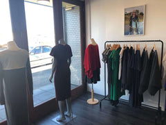 mannequins inside desiree clothing