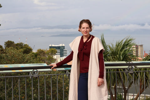 Sustainable fashion by wellington designer