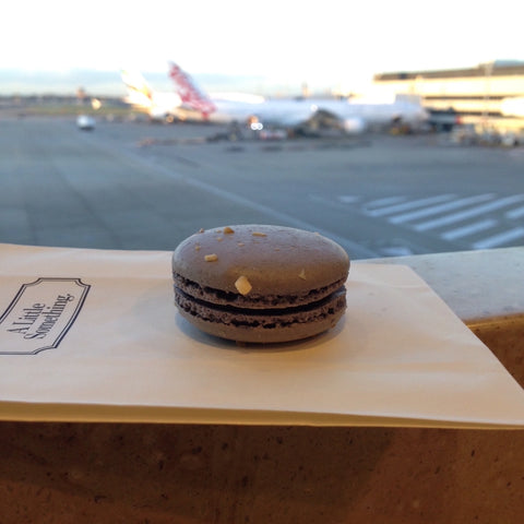 macaroon at sydney airport