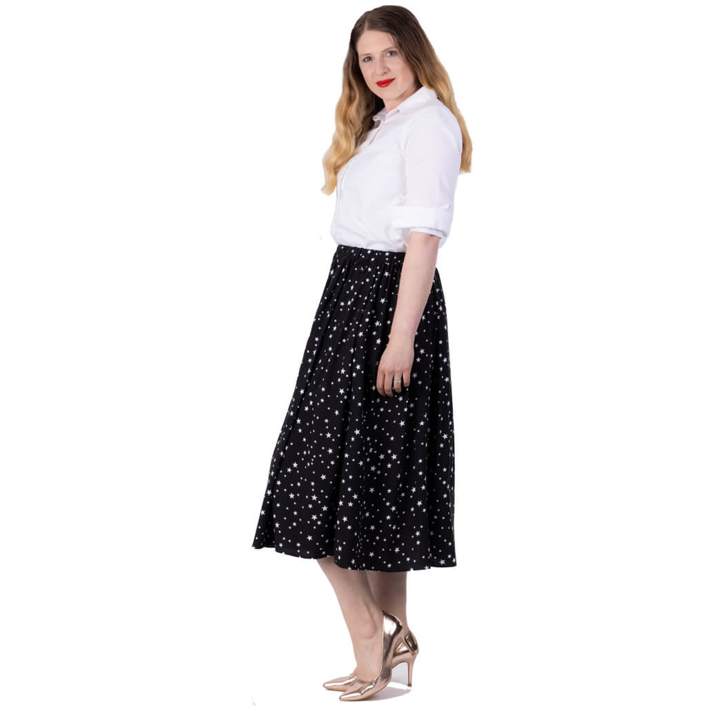 Willow Star Print Skirt