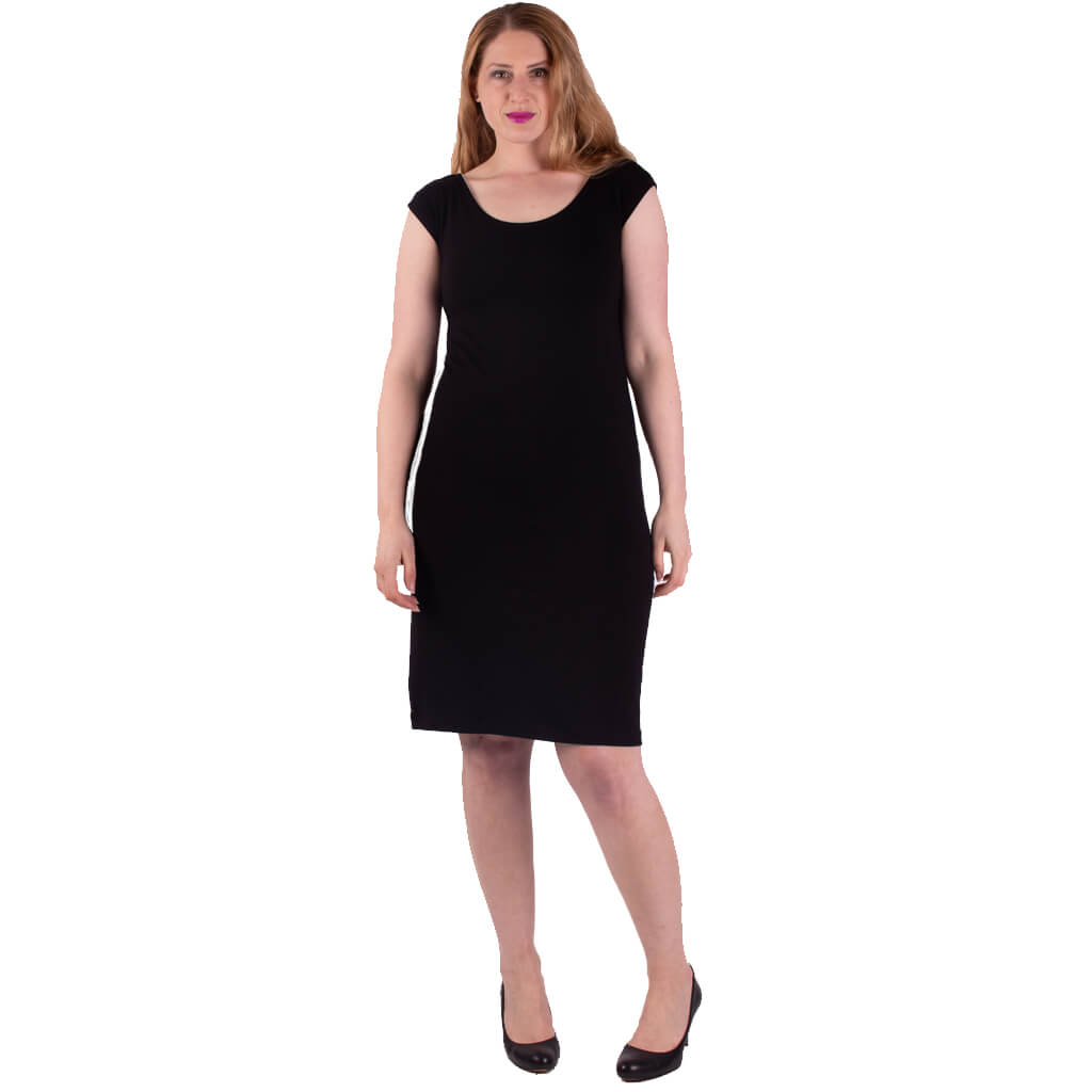 womens versatile and modest slip dress for under sheer garments