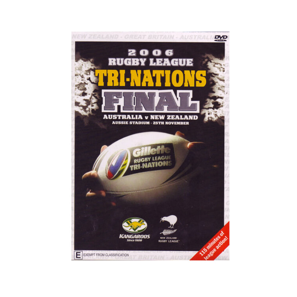 2006 Rugby League Tri Nations Final