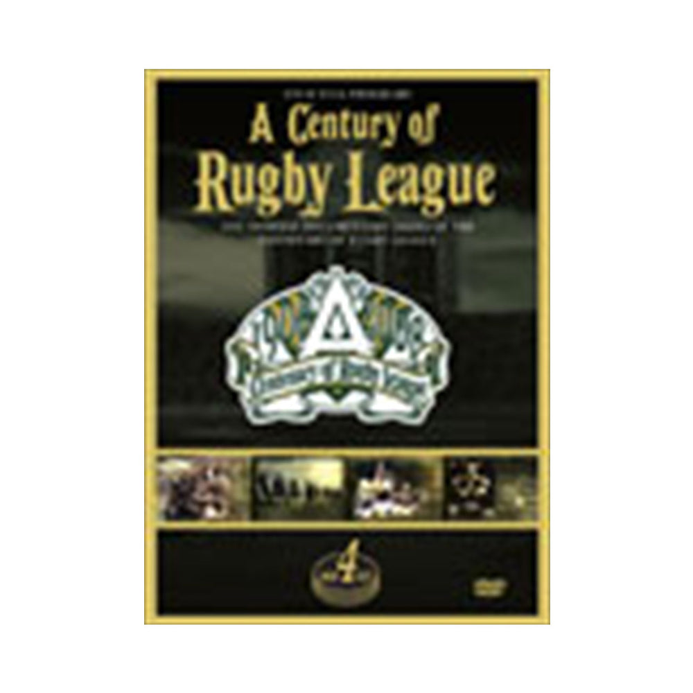 A Century of Rugby League DVD