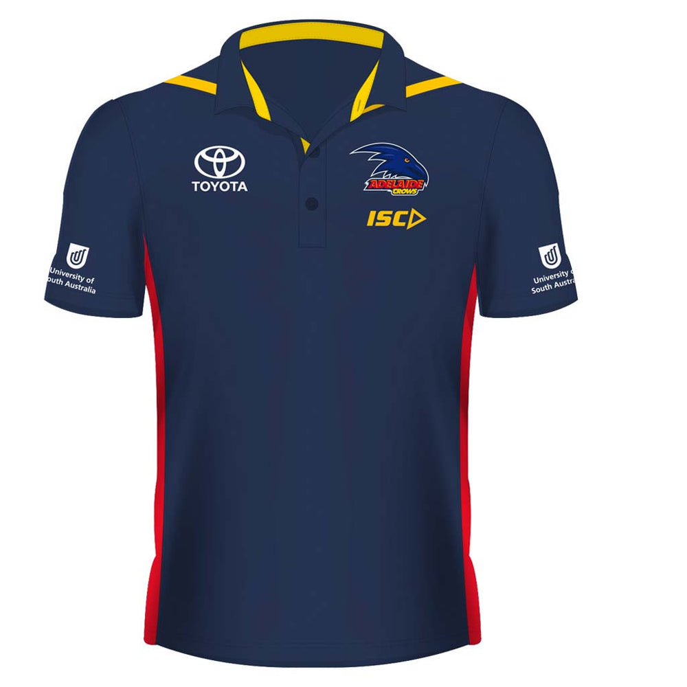 Load image into Gallery viewer, Adelaide Crows 2019 Media Polo