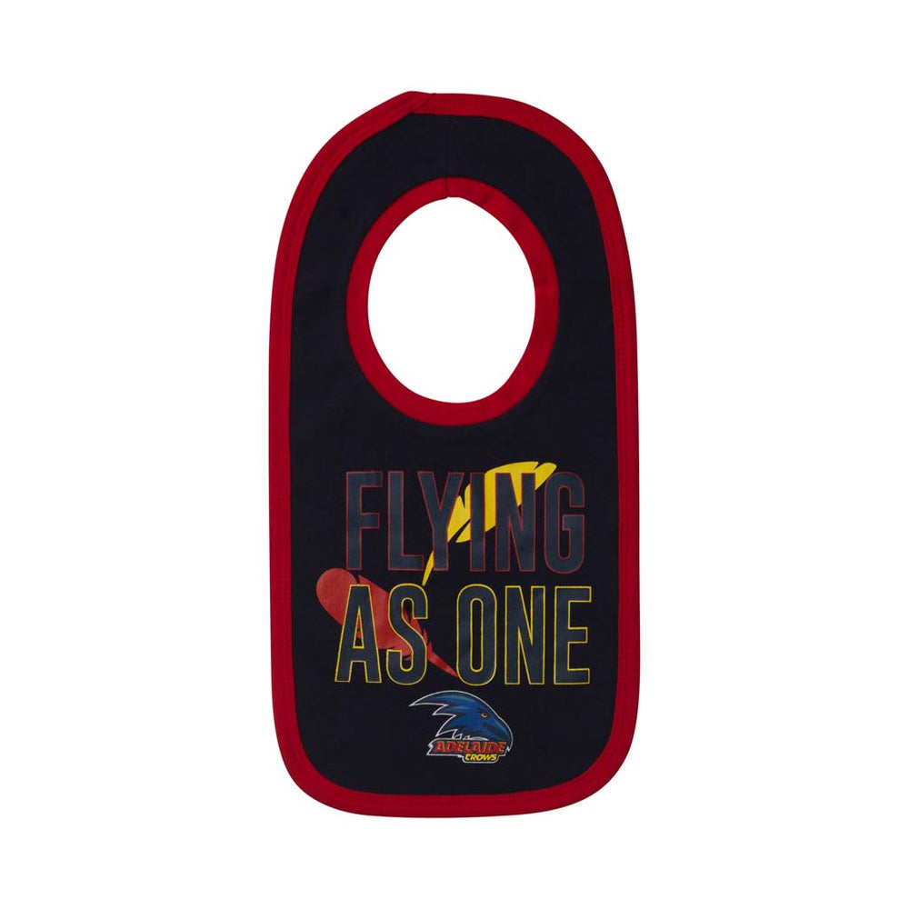 Adelaide Crows 2 Pack Bib Set