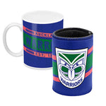 Auckland Warriors Mug and Can Cooler Gift Pack