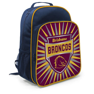 Brisbane Broncos Kids Shield Backpack