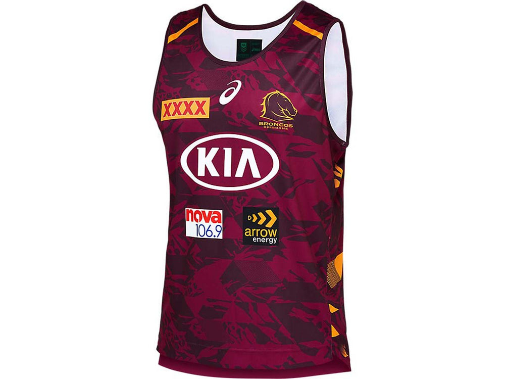 Brisbane Broncos 2021 Training Singlet
