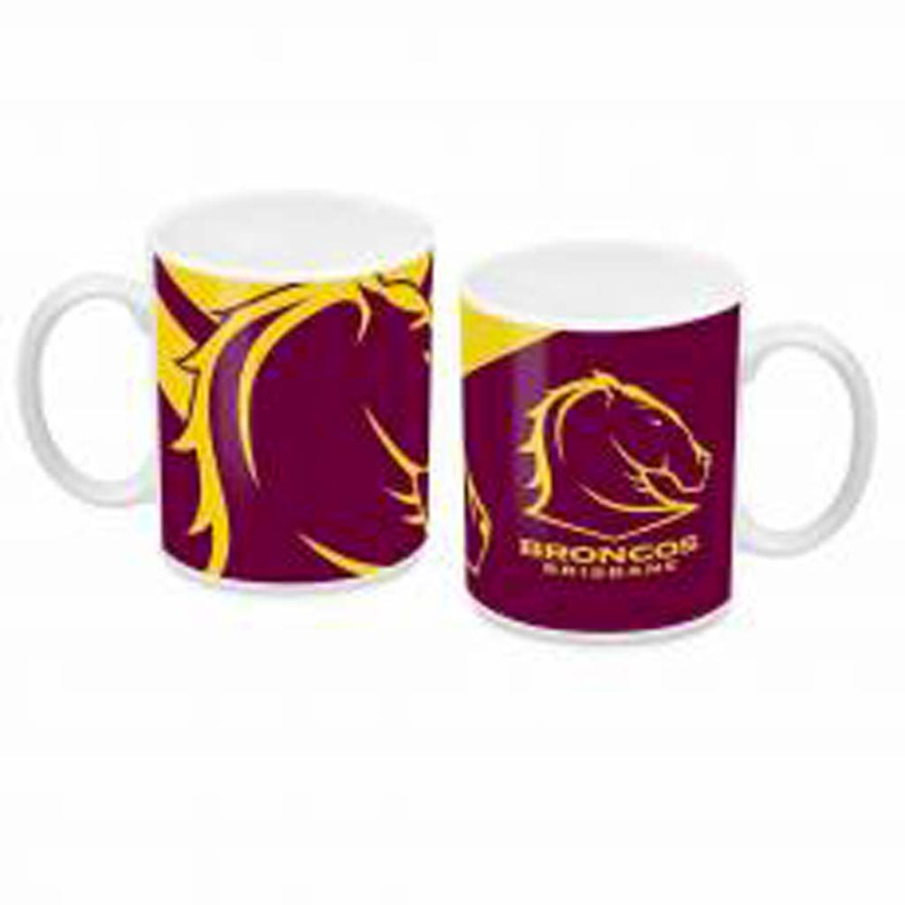 Load image into Gallery viewer, Brisbane Broncos Ceramic Mug