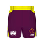 Brisbane Broncos 2018 Training Shorts - Youth