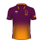 Brisbane Broncos 2019 Sublimated Polo - Ladies