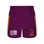 Brisbane Broncos 2019 Training Shorts  - Youth