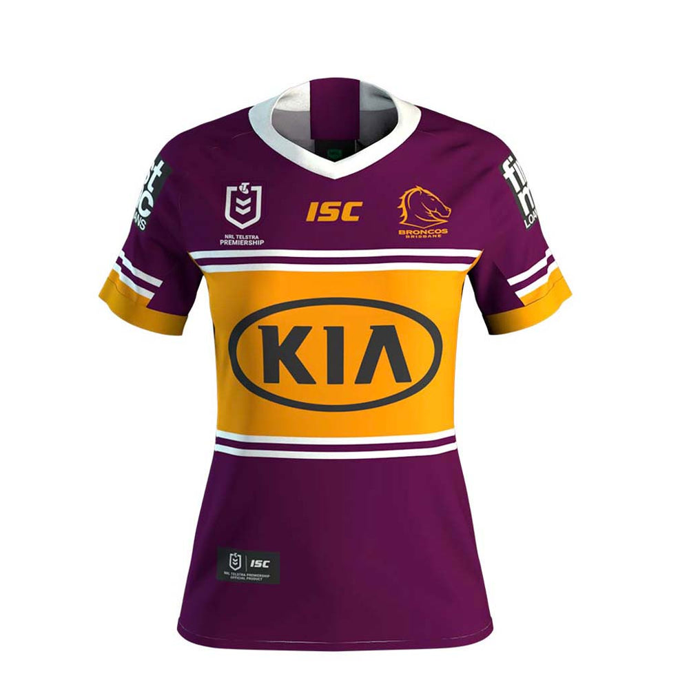 Brisbane Broncos 2020 Home Jersey - Ladies