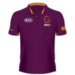 Brisbane Broncos 2020 Media Polo - Ladies