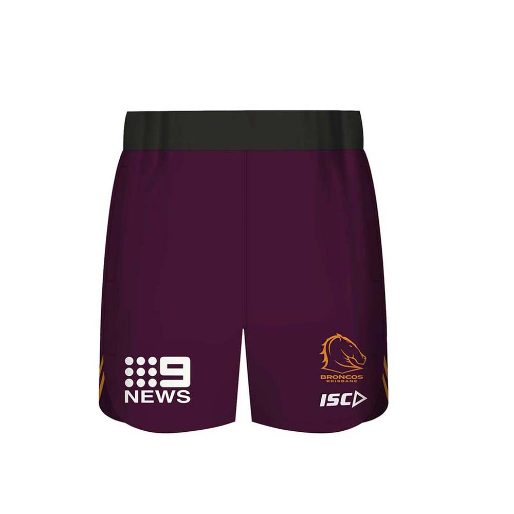 Brisbane Broncos 2020 Training Shorts - Youth