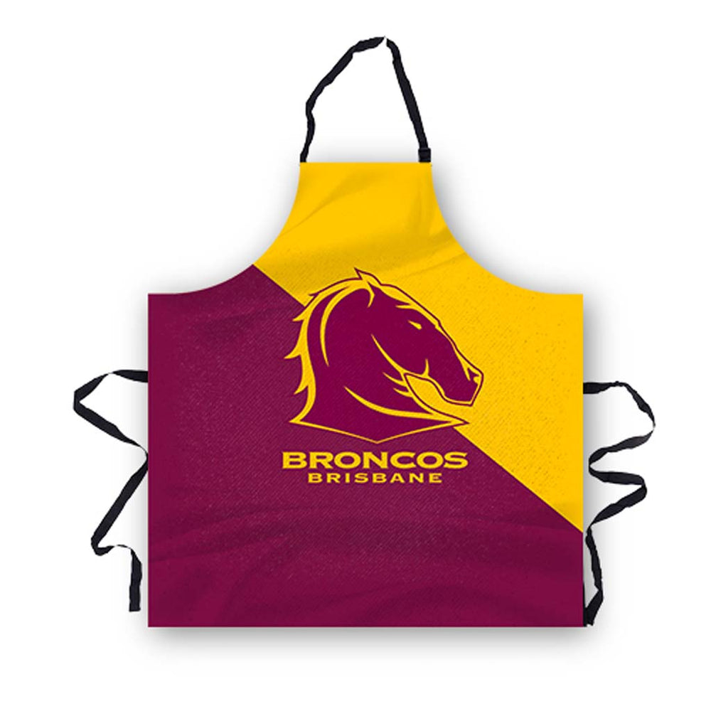 Load image into Gallery viewer, Brisbane Broncos Apron