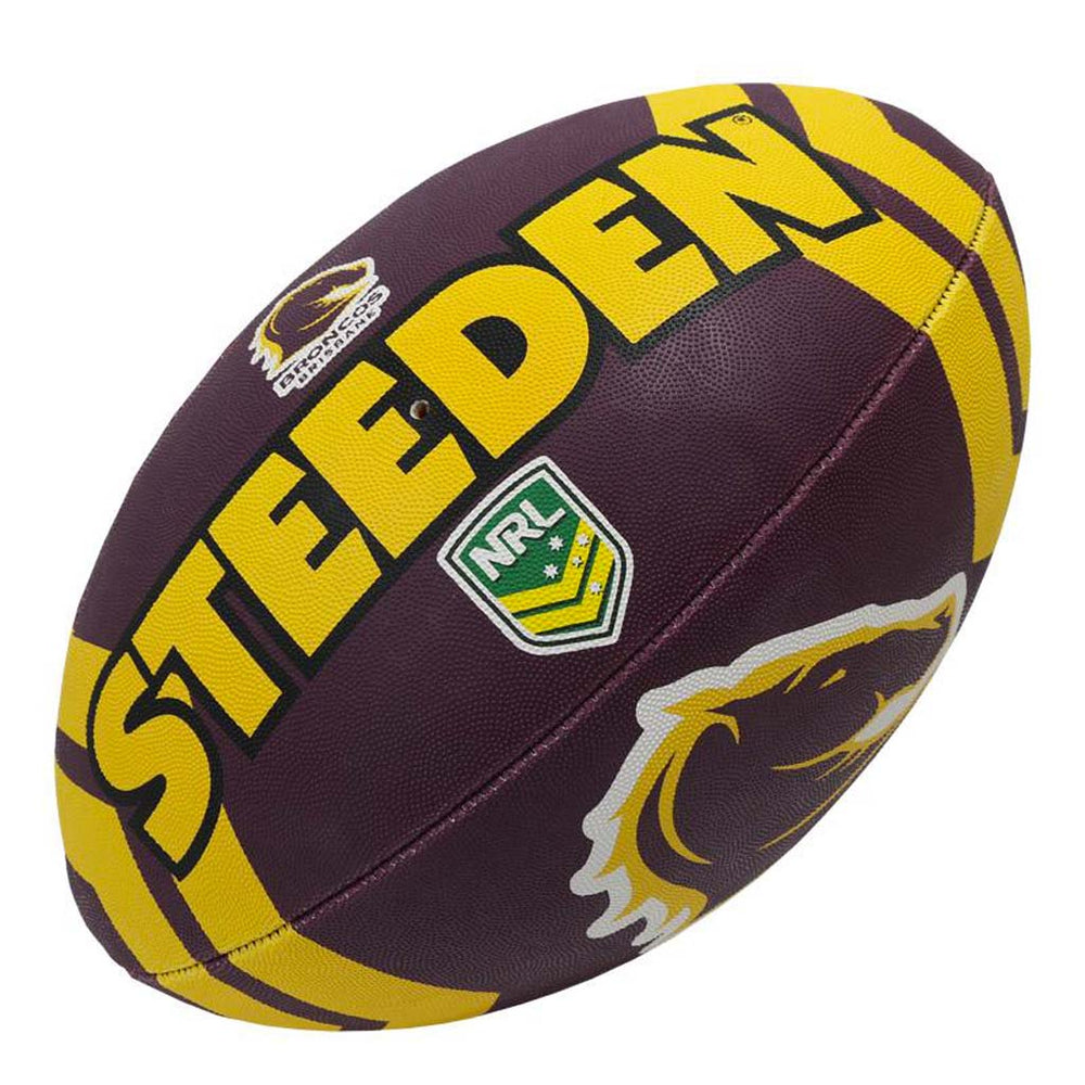 Load image into Gallery viewer, Brisbane Broncos Size 5 Ball