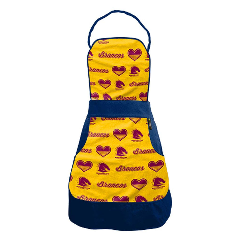 Brisbane Broncos Ladies Retro Apron