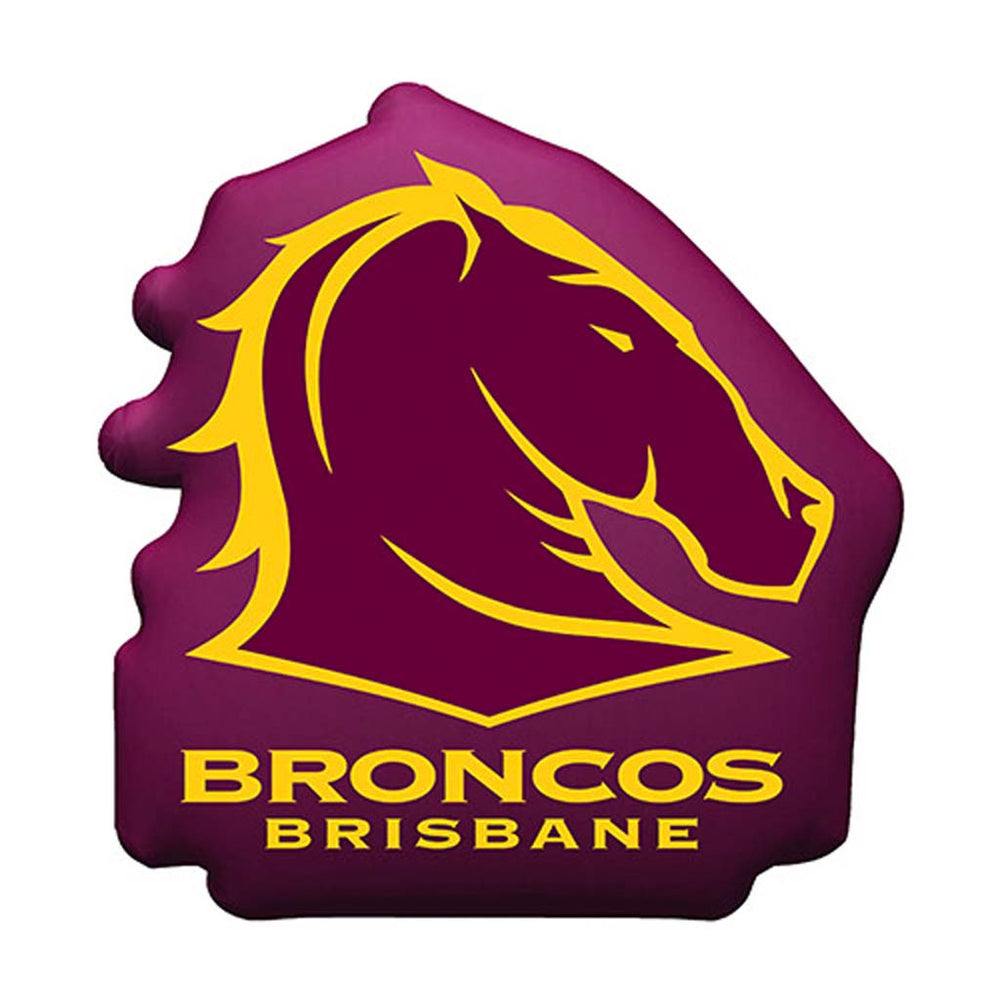 Brisbane Broncos Logo Cushion